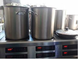 Индукционные плиты Техма и кастрюли из нержавейки новые