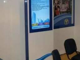Информационные киоски с большим экраном