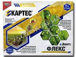 Инсектицид «Картес» 3,6 мл ПАВ «Флекс» 10 мл (аналог Турбо Престо), оригинал
