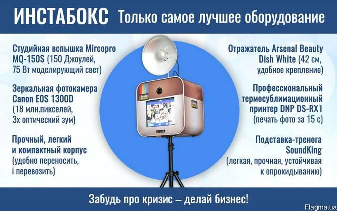 Инстабокс – фотобудка инстапринтер для свадеб и вечеринок