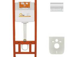 Инсталляция для унитаза Q-tap Nest M425 ST комплект 4 в 1. ..