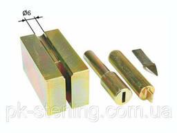 Инструмент для установки наконечников для тросов. Оправка. ..