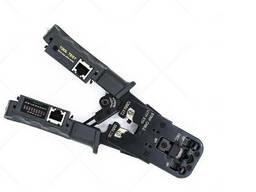 Инструмент HT-022 для обжимки RJ-45 (8P8C) и RJ-12/11 (6P6C), с тестером, профи качество