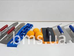 Інструменти для стяжки та штукатурки