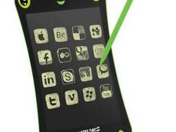Интерактивная доска LCD для записи и рисования 8.5 дюймов 0085С, Black-green, Box