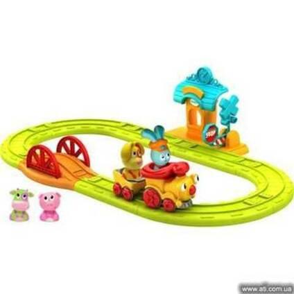 Интерактивная игрушка Ouaps Бани-Железная дорога (игр. набор,