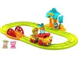 Интерактивная игрушка Ouaps Бани-Железная дорога (игр.набор,