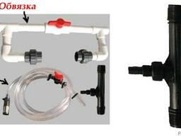 """Инжектор Вентури 1"""" для внесения удобрений в систему капельн"""