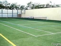 Строительство футбольных и баскетбольных полей