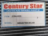 Испаритель кондиционера автомобиля Nissan Tiida 06 LHD - фото 4