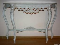 Итальянсий консольный столик барокко