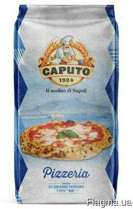 Итальянская мука из мягких сортов пшеницы Pizzeria 25 кг