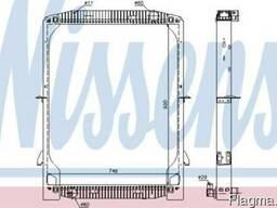 Ивеко Евротех 440Е43 .2000 - Сердцевина радиатора охлаждения