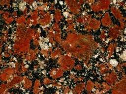 Изделия из гранита Капустинского месторождения