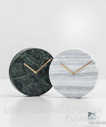 Изделия из натурального камня гранита и мрамора. Часы из. . .