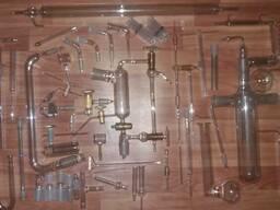 Изгибы алонжи переходы трубки муфты краны стеклянные