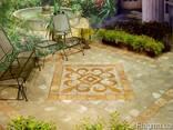 Изготовим декоративное напольное панно из плитки мрамора - фото 4