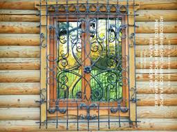 Изготовим металлические ворота, навесы, решетки, козырьки.