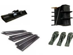 Изготовим ножи для ковшей пальцы втулки для спецтехники