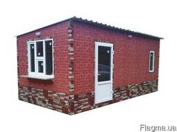 Изготовление дачных домиков 6, 0х3, 5х2, 8 м