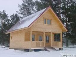 Изготовление дачных домов из дерева