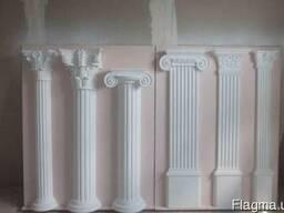 Изготовление декорерованных колон, рам, карнизов и тд