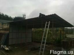 Изготовление и монтаж дверей, ворот, решеток, ферм и ангаров