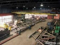 Изготовление и монтаж металлоконструкций, навесов, киосков