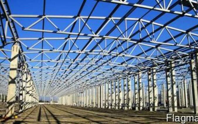 Изготовление и монтаж строительных металлоконструкций