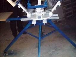 Изготовление и продажа карусельных станков для шелкографии - фото 3