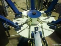 Изготовление и продажа карусельных станков для шелкографии - фото 4