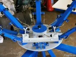 Изготовление и продажа карусельных станков для шелкографии