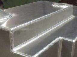 Изготовление и ремонт алюминиевых емкостей и баков.