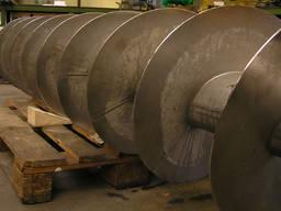 Изготовление и ремонт шнеков реставрация спирали производств