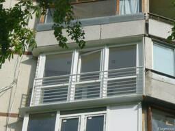 Изготовление кованых и сварных балконных ограждений Харьков.