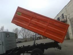 Изготовление кузова самосвала на ЗИЛ на ГАЗ