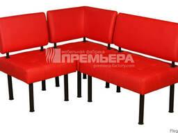 Изготовление мебели для кафе на заказ: диваны Тетрис
