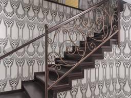 Изготовление металлических лестниц под заказ. Низкие цены