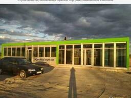Строительство торговых и офисных павильонов Киев Маф
