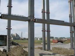 Изготовление, монтаж конструкций каркаса многоэтажного здани