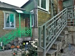 Изготовление навесов, козырьков, Донецк