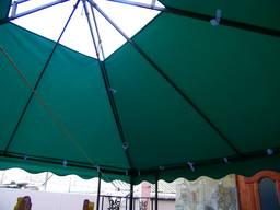Пошив шатров, беседок и зонтов