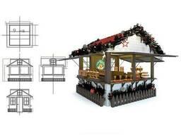 Изготовление павильонов, продажа павильонов торговых