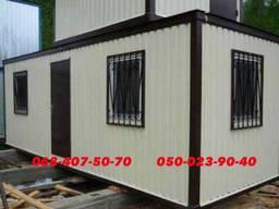 Изготовление под ключ бытовок, постов охраны, дачных домиков складов