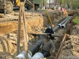 Монтаж тепловых сетей, водопроводов и канализации