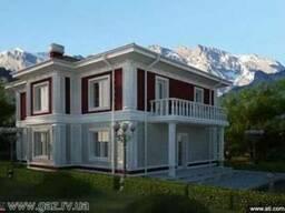 Изготовление проектов домов. Дизайн. Натяжные потолки.