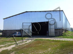 Изготовление прямостенных ангаров, складов, зернохранилищ