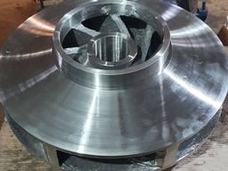 Изготовление рабочих колес и запчастей к импортным насосам