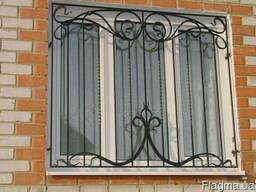 Изготовление решеток на окна. Дешевле не найдете