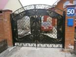 Изготовление решеток, ворот, калиток, оградок - фото 1